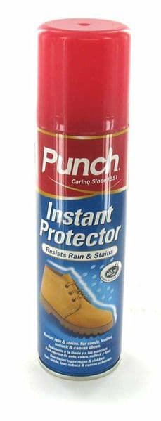 Punch Instant Protector Boot Spray Leather Suede Sheepskin Waterproof Shoe 200ml